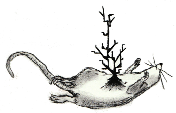Illustration from Plague - Miskatonic Repository