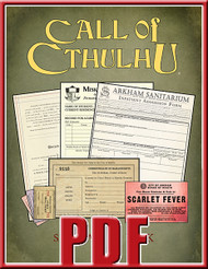 Sanitarium, Miskatonic University, and Arkham forms bundle.