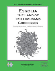 Esrolia: The Land of Ten Thousand Goddesses cover