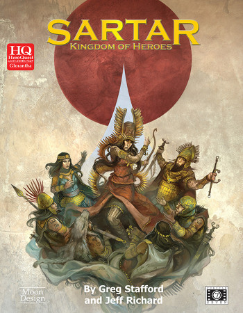 Sartar: Kingdom of Heroes cover