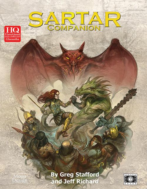 Sartar Companion cover