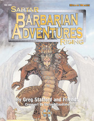 ISS1401 - Barbarian Adventures - Sartar Rising Volume 1 cover