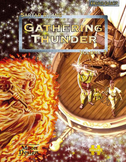 Gathering Thunder - Sartar Rising Volume 3 cover
