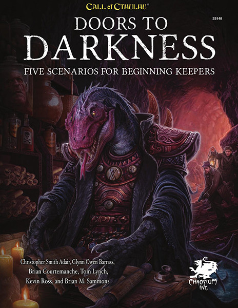 Doors to Darkness from Chaosium Inc.  sc 1 st  Chaosium & Doors to Darkness Hardcover - Chaosium Inc.