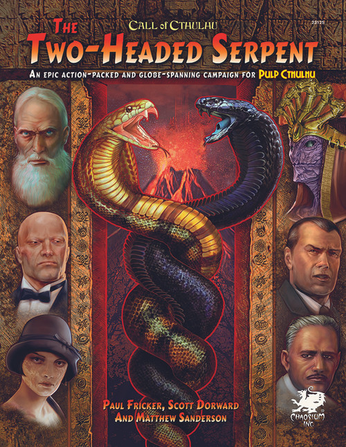 Two-Headed Serpent - Front Cover