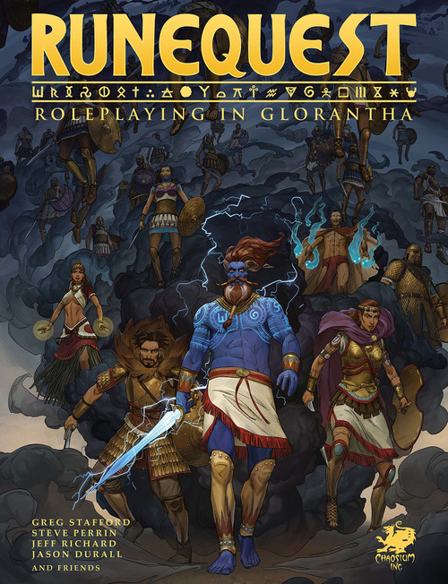 RuneQuest Roleplaying in Glorantha - Front Cover