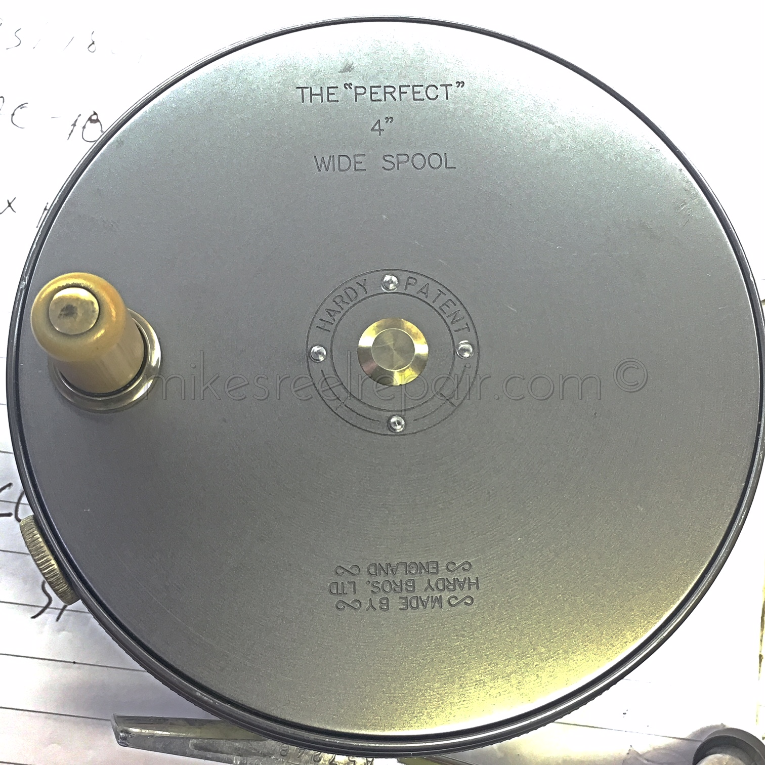 Hardy perfect center screw broken mikes reel repair we have the tools and knowhow not to mention the parts to repair that favorite reel of yours pooptronica Images