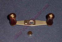 Abu Wood Handle Kit - SILVER
