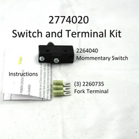 2774020 SWITCH/FORK TERMINAL KIT