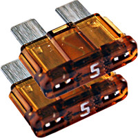 5 AMP FAST BLOW FUSE FOR ELECTRONICS - 2 pack