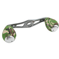 Green Camo Swept Handle, 4 bearing EVA Knobs