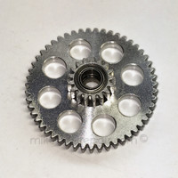 METAL Ported Abu Dual Bearing Idler Gear Kit - Top