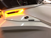 ALL F3 MODELS SIDE VENT TURN SIGNAL LED BLINKER KIT . SELECT MODEL TO GET SPECIAL HARNESS FOR USE WITH TOURING AND LIMITED MODELS