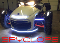 "BRIGHT ""SPYCLOPS"" LED LIGHT FOR ALL F3 SPYDERS"