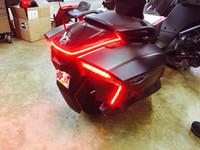 2016-2018 F3T & LIMITED BRAKE, RUN, TURN, STROBE REAR LIGHTS WITHOUT TOP CASE