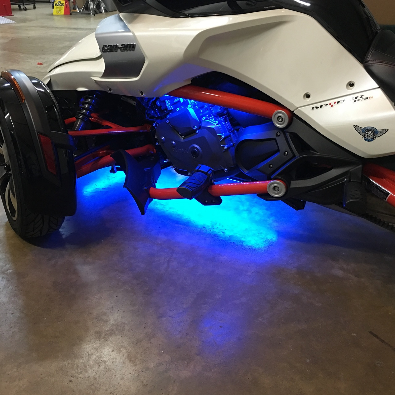 DOWN & UNDER WITH ENGINE LIGHT KIT