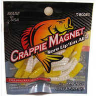 Leland Crappie Magnet 1.5' 15ct Yellow/Pearl