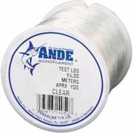 Ande Preminum Mono Clear 1/8 spool 12lb