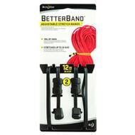 """Better Bands - 12"""", Black, Per 2"""
