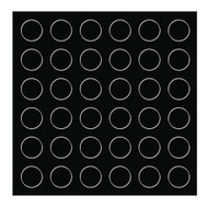 Accublue Spltter Replacement Target Stickers, 5 Pack