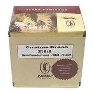 Custom Reloading Brass - 375 H&H Magnum, Per 25