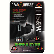 Snake Eyes Combo Sight - Smith & Wesson Shield, Green Front and Rear