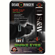 Snake Eyes Combo Sight - Smith & Wesson M&P, Green Front and Rear