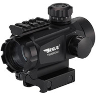35mm Tactical Weapon Red/Green Dot 5 MOA w/Multi-Reticle