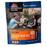 Entrees - Chicken Fried Rice, Servings