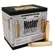 Custom Reloading Brass - 300 Remington Ultra Magnum (RUM), Per 25