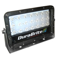 DuraBrite SLM Mini Flood Light - Black Housing/White LEDs - 150W - 12/24V - 16,670 Lumens at 24V