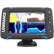 Lowrance Elite-7 Ti Touch Combo w/TotalScan Transom Mount Transducer & Navionics+ Chart