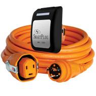SmartPlug 30 Amp Dual Configuration 50' Cordset w/Twist-Type Connection  & 30 Amp Non-Metallic Black Inlet
