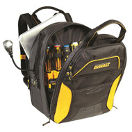 CLC DGCL33 DEWALT 33 Pocket Lighted USB Charging Tool Backpack