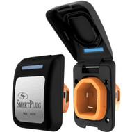 SmartPlug 30 Amp Non Metallic Inlet Black