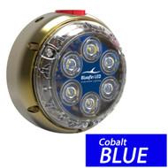 Bluefin LED DL12 Underwater Dock Light - Surface Mount - 24V - Cobalt Blue