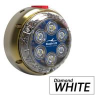 Bluefin LED DL12 Underwater Dock Light - Surface Mount - 24V - Diamond White