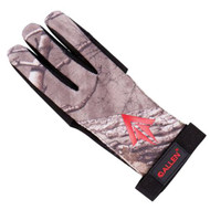 Ambidextrous Traditional Archery Glove - Large, Realtree Xtra