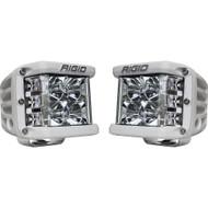 Rigid Industries D-SS Flood - Pair - White/White LED
