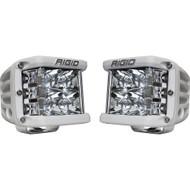 Rigid Industries D-SS Spot - Pair - White/White LED