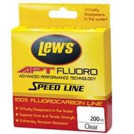 APT Fluorocarbon Speed Line - 17 lbs, 200 Yards, Transparent Clear