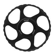 UTG Side Wheel Add-On for Bubble Leveler Scope, 100mm, Black