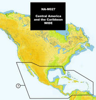 C-MAP NA-M027 Max Wide C Card Central America & Caribbean