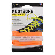 KnotBone Stretch Laces - Bright Orange
