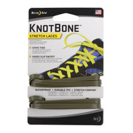 KnotBone Stretch Laces - Foliage Green