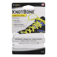 KnotBone Stretch Laces - White