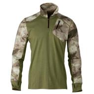 Hell's Canyon Speed MHS 1/4 Zip Top Shirt - ATACS Foliage/Green, Small