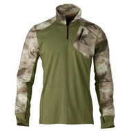 Hell's Canyon Speed MHS 1/4 Zip Top Shirt - ATACS Foliage/Green, Medium