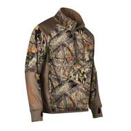 Hell's Canyon Performance Fleece 1/4 Zip Jacket - Large, Mossy Oak Breakup Country
