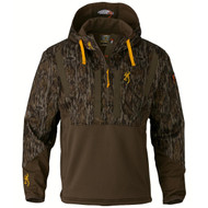 Wicked Wing Timber Soft Shell Hoodie - Mossy Oak Bottomlands, Large
